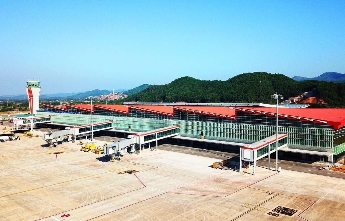 Cảng hàng không quốc tế Vân Đồn. (Ảnh minh họa: TTXVN phát)