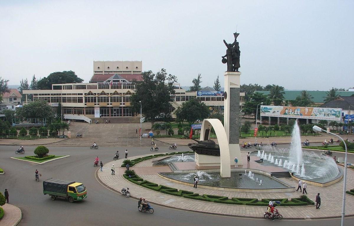 Ngã sáu trung tâm Buôn Ma Thuột. (Nguồn: Wikipedia)