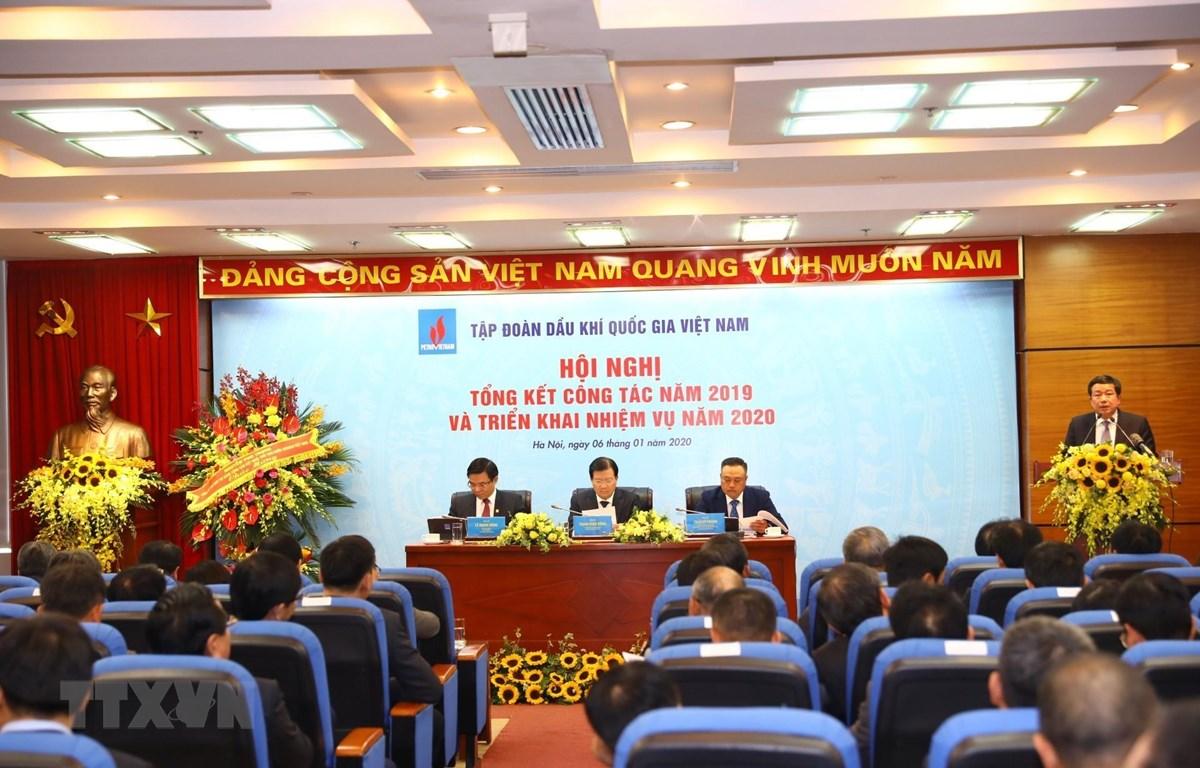 Phó Thủ tướng Trịnh Dũng tham dự và chủ trì Hội nghị. (Ảnh: Huy Hùng/TTXVN)