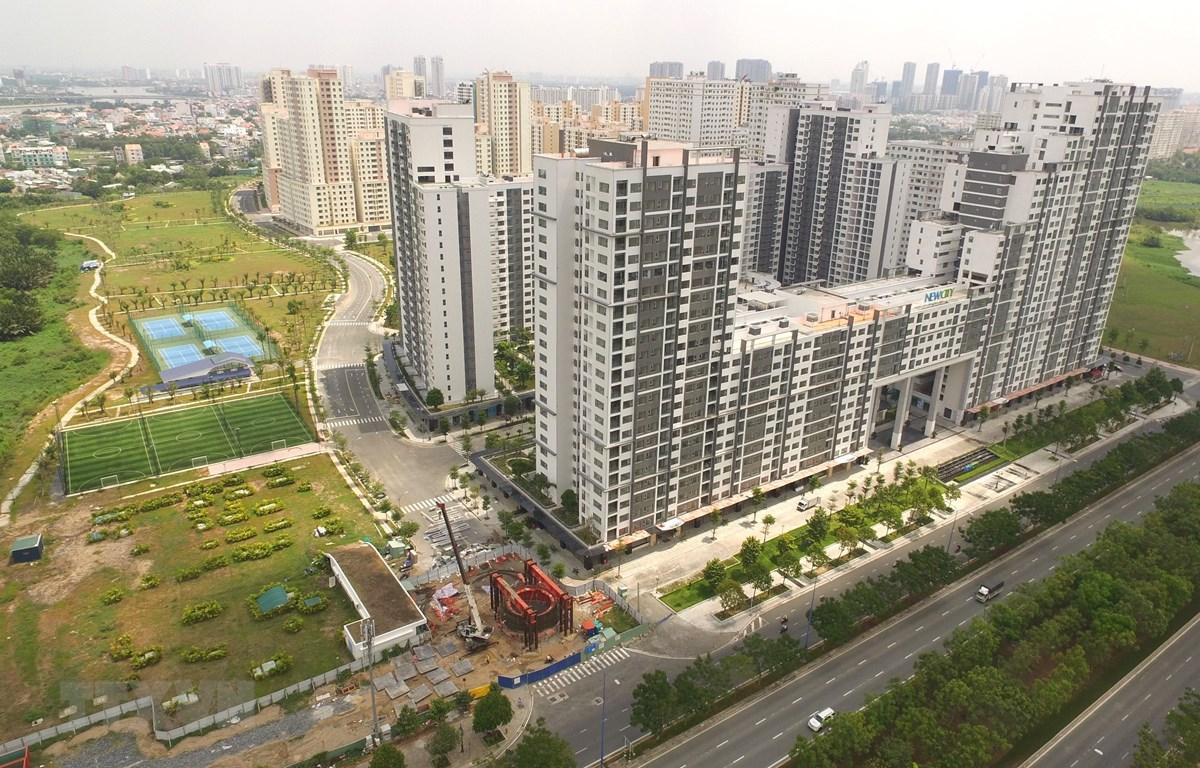 Căn hộ tái định cư đã được chuyển sang dự án thương mại New City Thủ Thiêm khi chưa được Thủ tướng Chính phủ chấp thuận. (Ảnh: Trần Xuân Tình/TTXVN)