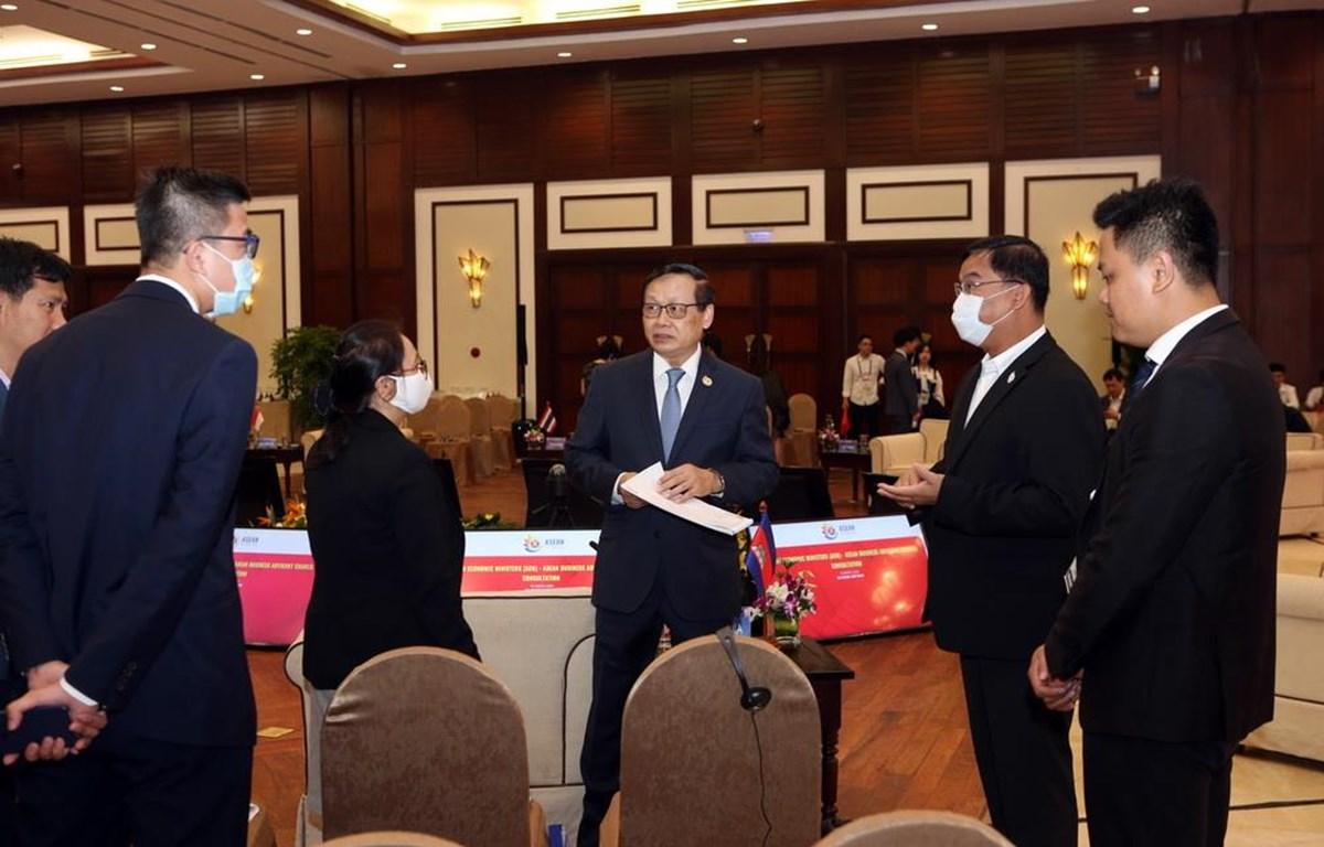 Hội nghị hẹp Bộ trưởng Kinh tế ASEAN vẫn được tổ chức thành công tại Đà Nẵng nhờ công tác phòng dịch rất tốt, bất chấp việc dịch bệnh đang lan tràn ở nhiều quốc gia (Nguồn: TTXVN)