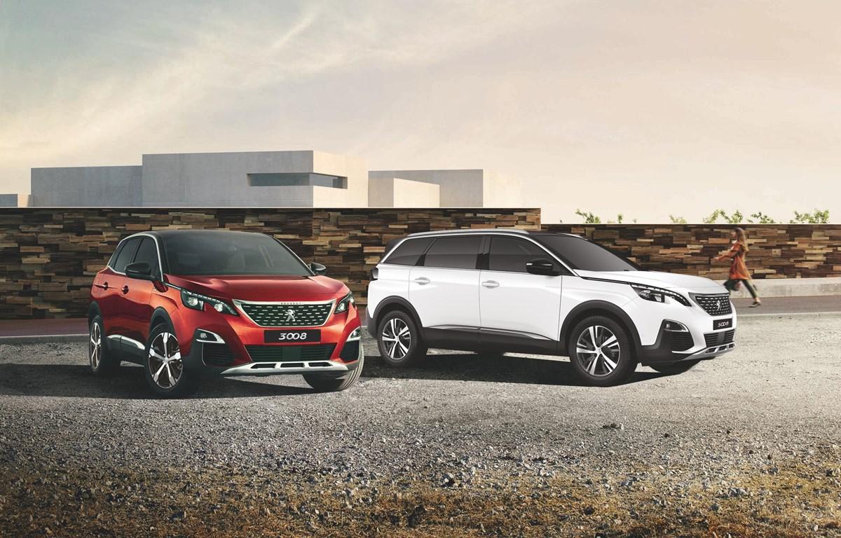Bộ đôi Peugeot 3008 & 5008 phiên bản mới. (Nguồn: Vietnam+)
