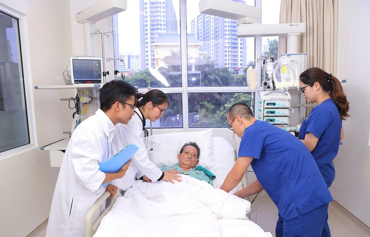 VinUni áp dụng nhiều công nghệ trong học tập, bao gồm mô phỏng y khoa. (Nguồn: Vietnam+)