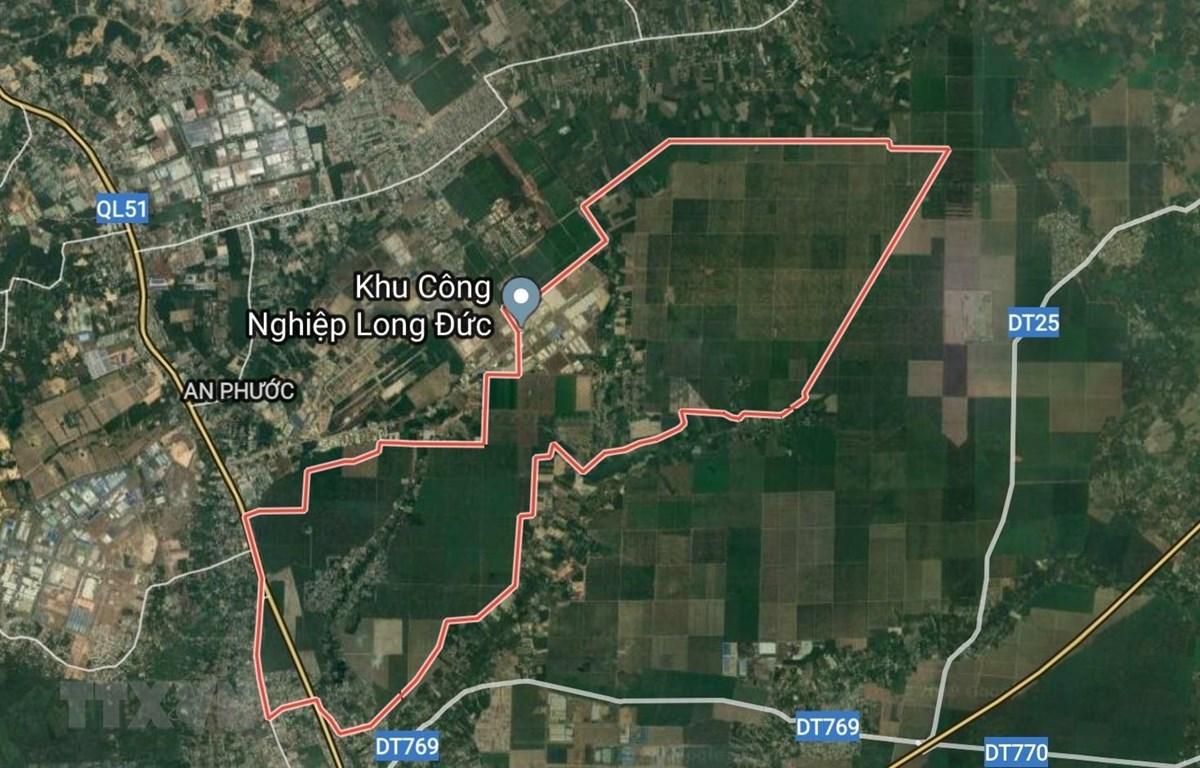 Khu đất tại xã Long Đức, huyện Long Thành. (Ảnh: Sỹ Tuyên/TTXVN)