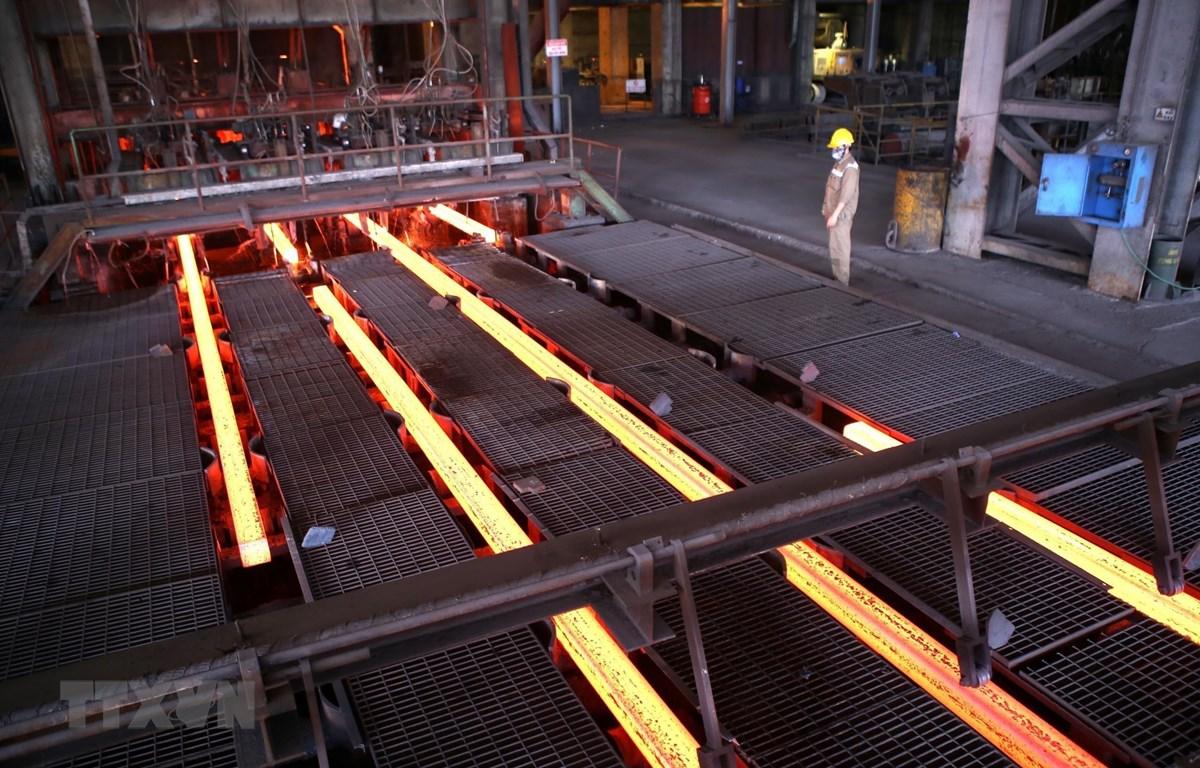 Sản phẩm thép của Tập đoàn Hòa Phát xuất khẩu sang thị trường Australia. (Ảnh minh họa: Danh Lam/TTXVN)