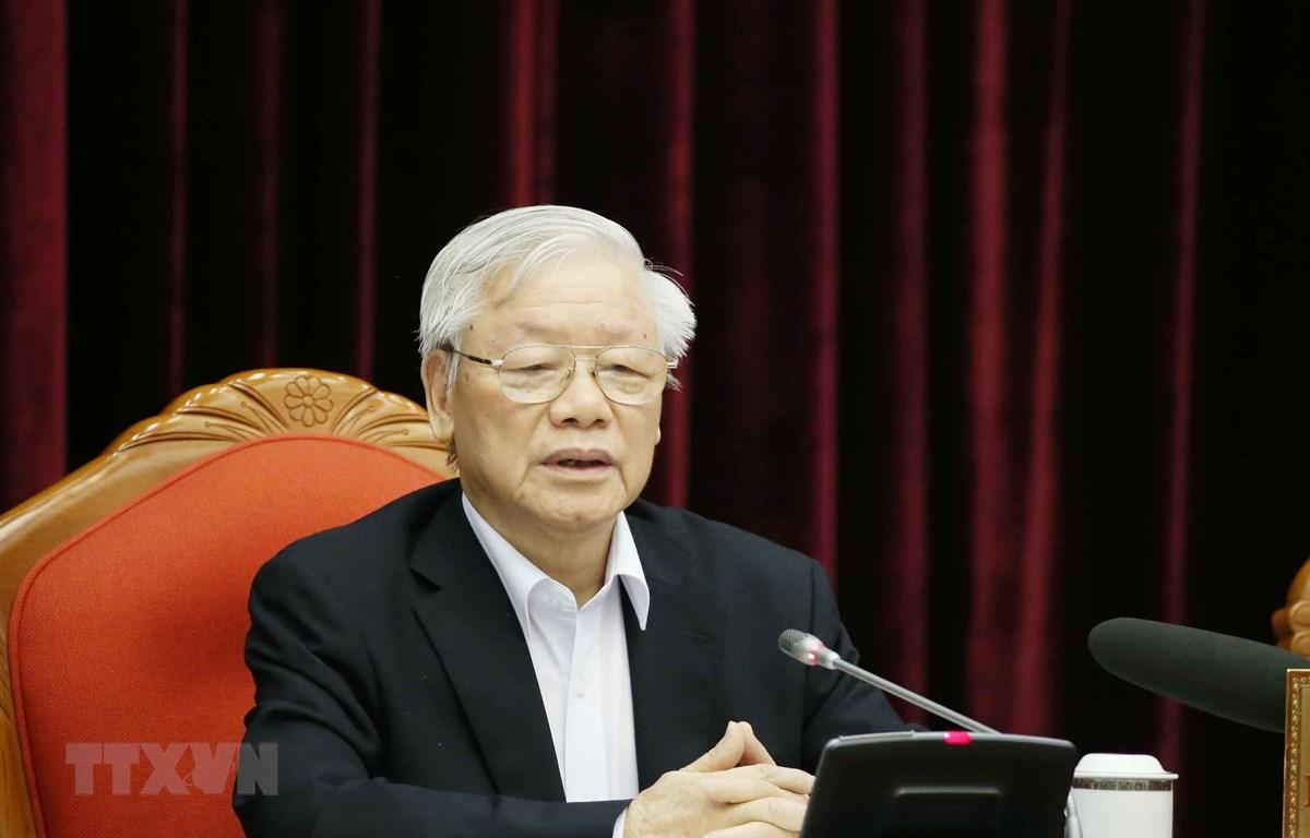 Tổng Bí thư, Chủ tịch nước Nguyễn Phú Trọng. (Ảnh: Phương Hoa/TTXVN)