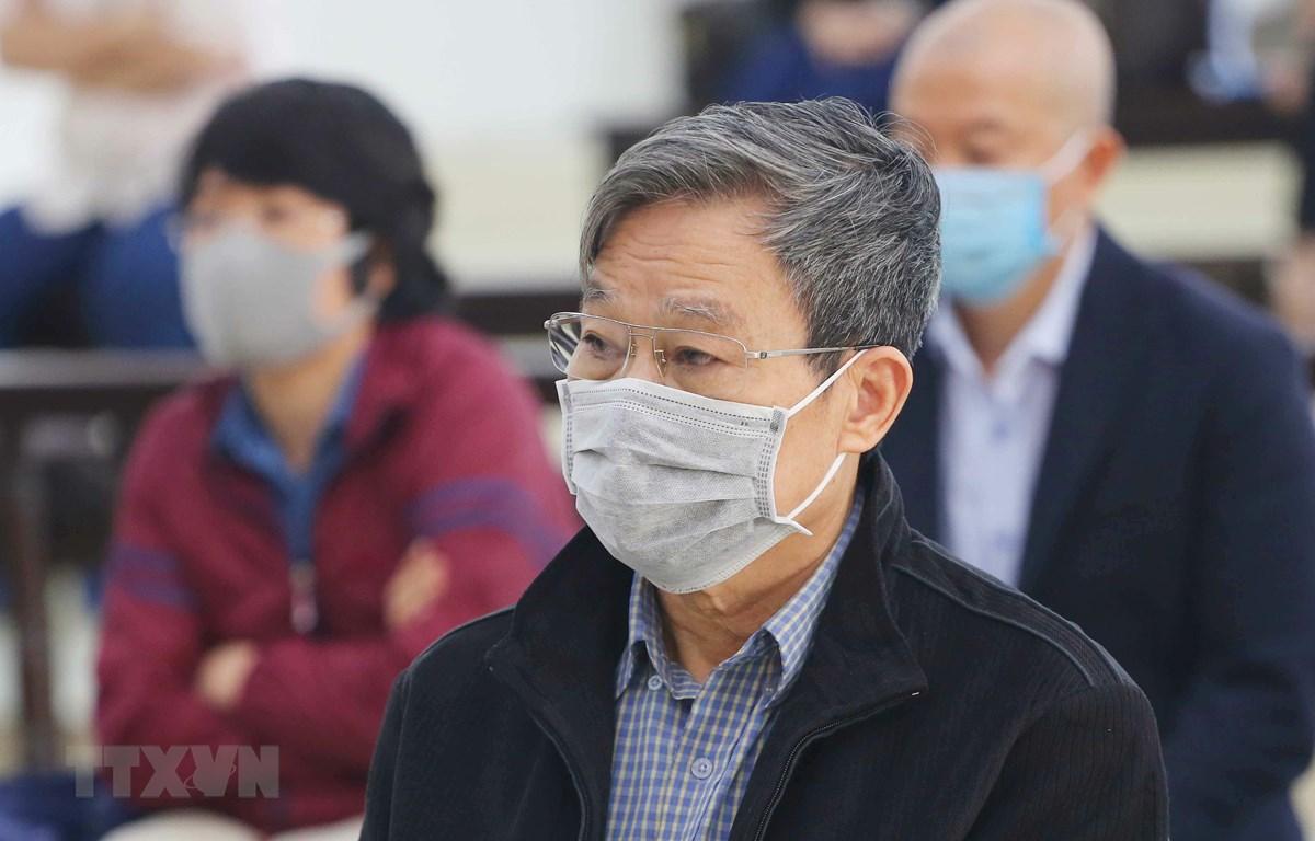 Bị cáo Nguyễn Bắc Son tại phiên tòa. (Ảnh: Doãn Tấn/TTXVN)