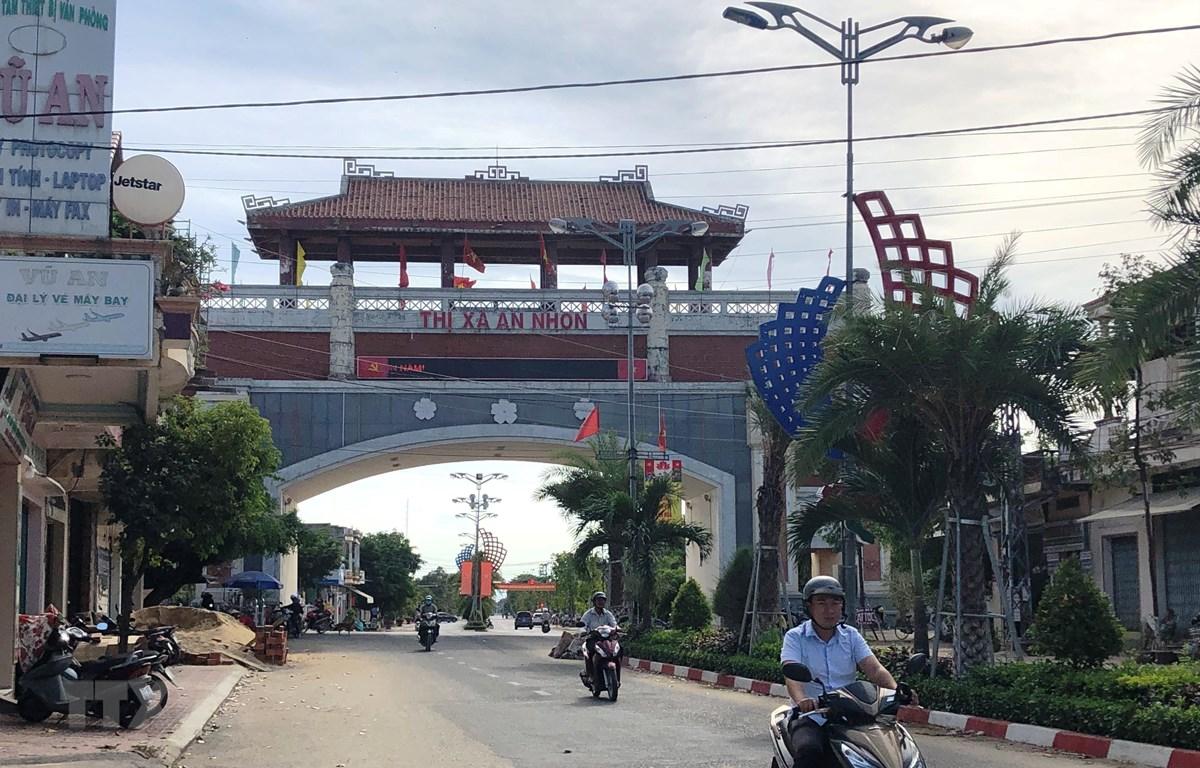 Theo quy hoạch, đến năm 2023 thị xã An Nhơn đạt chuẩn đô thị loại 3; trở thành thành phố vào năm 2025. (Ảnh: Nguyên Linh/TTXVN)
