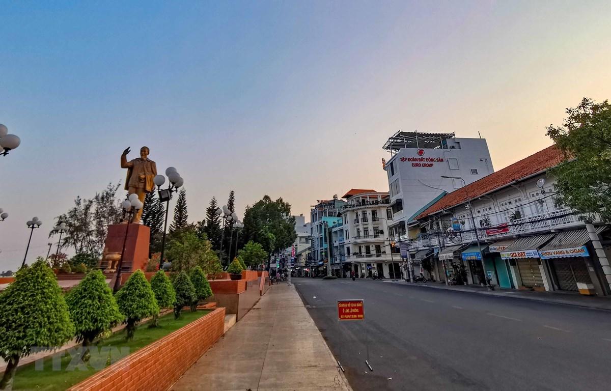 Khu vực bến Ninh Kiều. (Ảnh: Thanh Liêm/TTXVN)