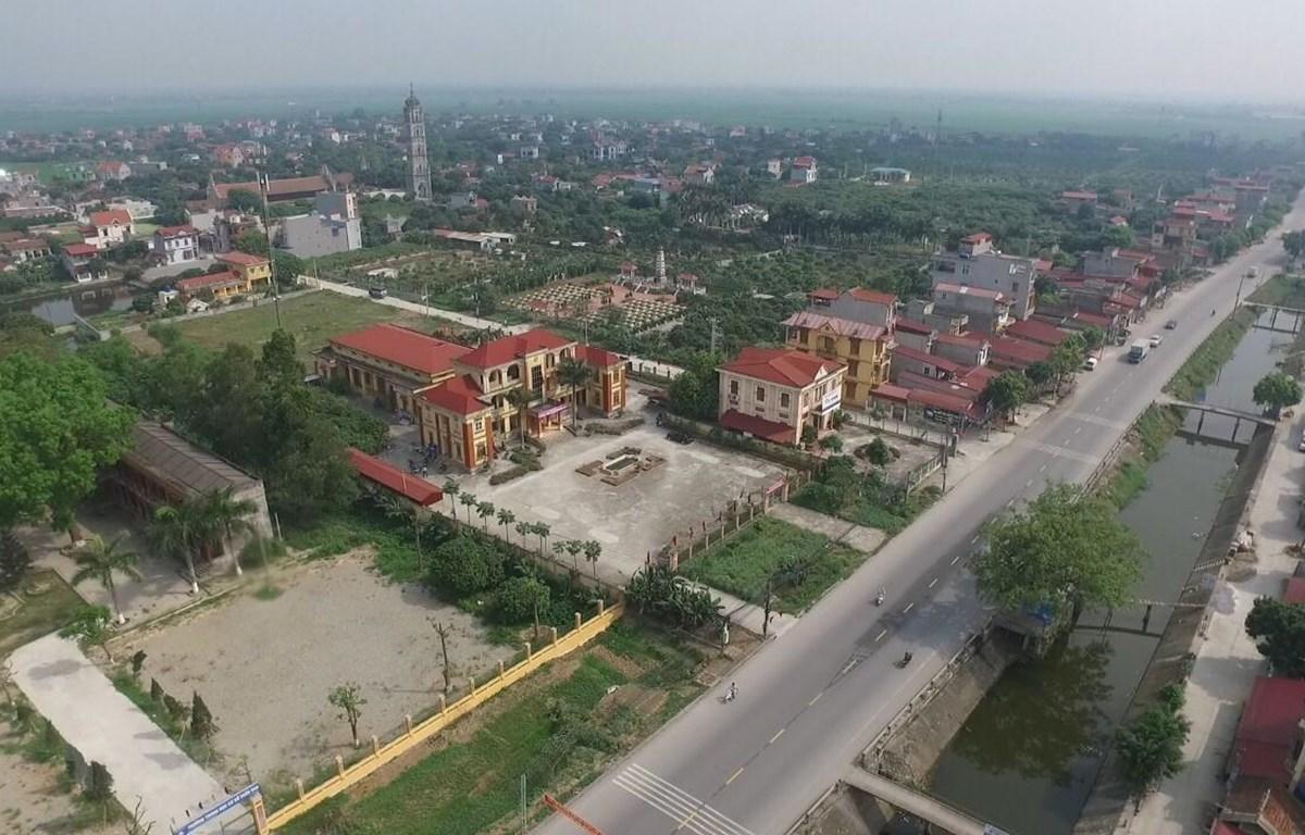 Diện mạo huyện Phù Cừ, Hưng Yên đạt chuẩn nông thôn mới. (Ảnh minh họa: Đinh Tuấn/TTXVN)