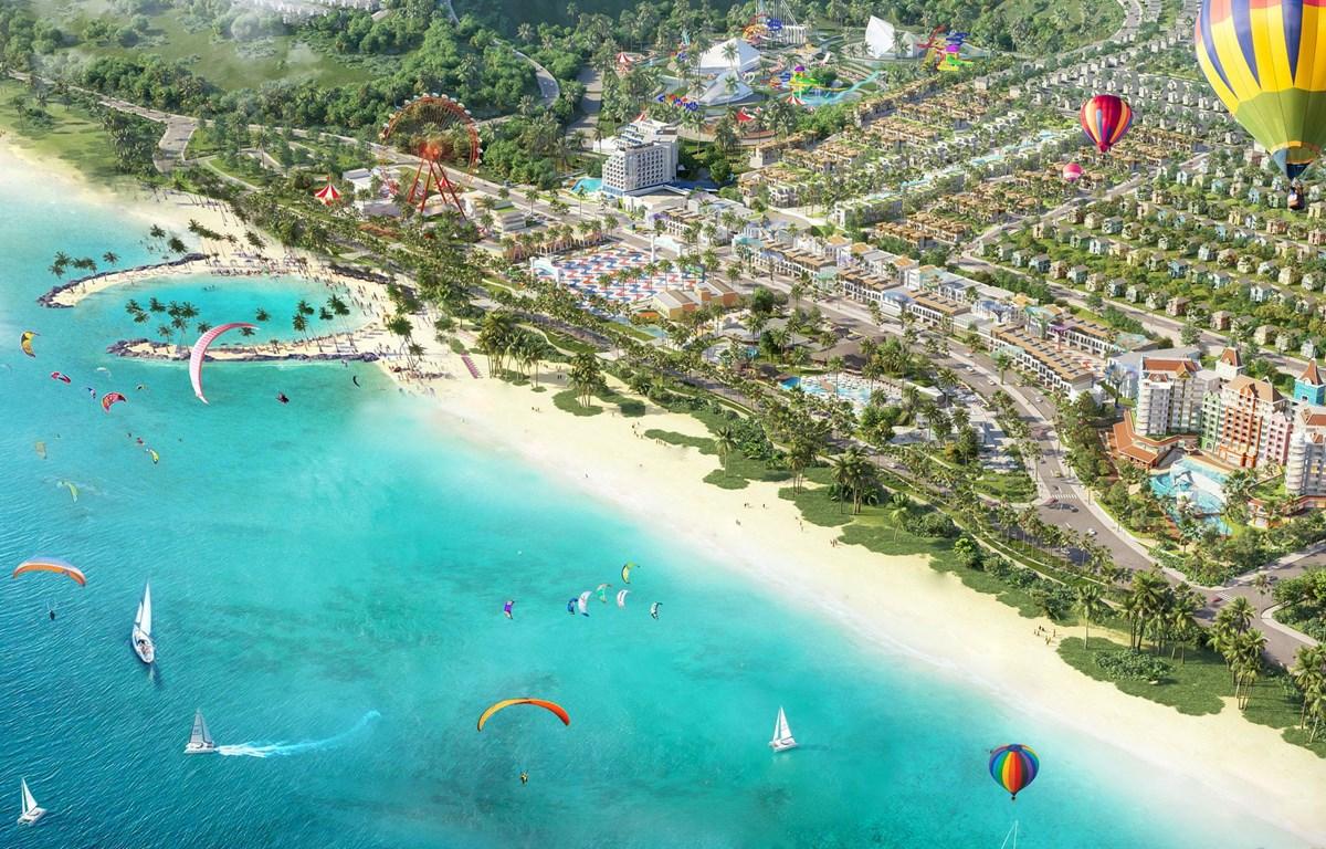 NovaWorld Phan Thiet - Siêu thành phố biển-du lịch-sức khỏe quy mô 1.000ha. (Nguồn: Vietnam+)