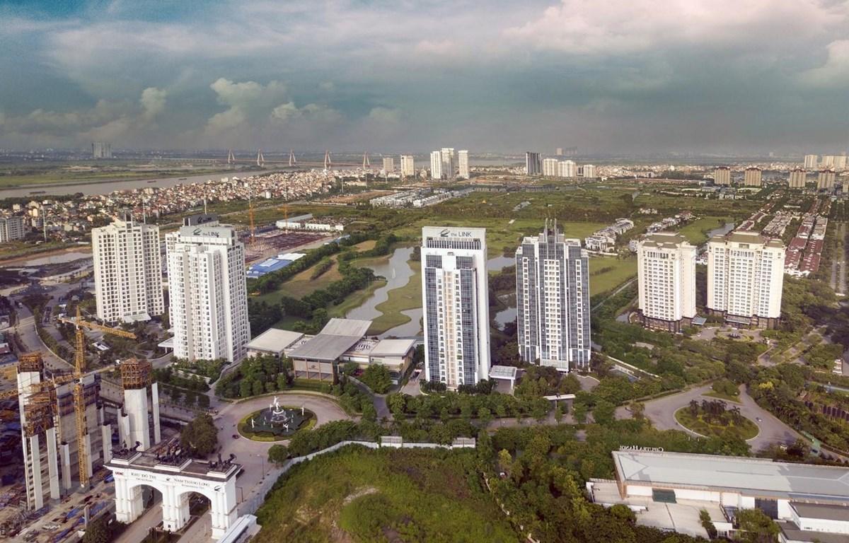 Khu đô thị Nam Thăng Long Ciputra Hanoi. (Ảnh: Trọng Đạt/TTXVN)