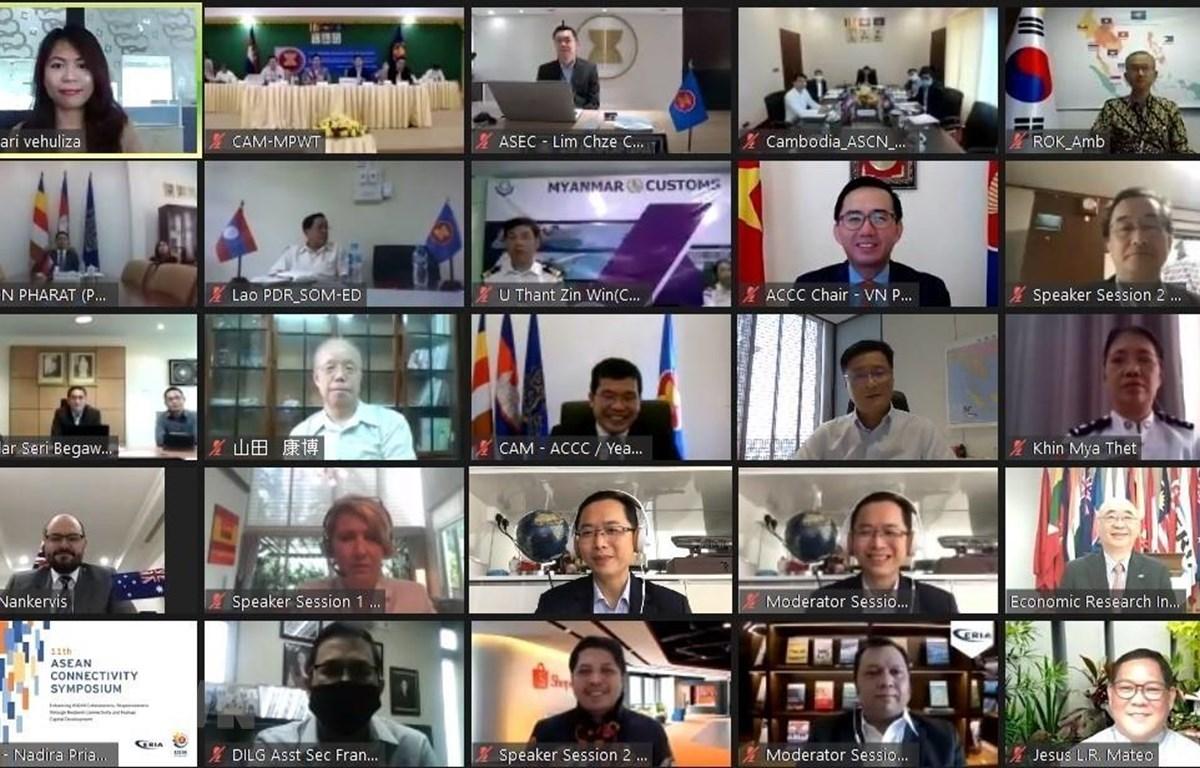Diễn đàn Kết nối ASEAN lần thứ 11 thu hút hơn 150 đại biểu, bao gồm Đại sứ, Trưởng Phái đoàn các nước ASEAN và các nước đối tác. (Ảnh: TTXVN phát)