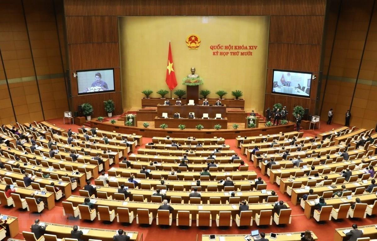 Kỳ họp thứ mười, Quốc hội khóa XIV. (Ảnh minh họa: Văn Điệp/TTXVN)