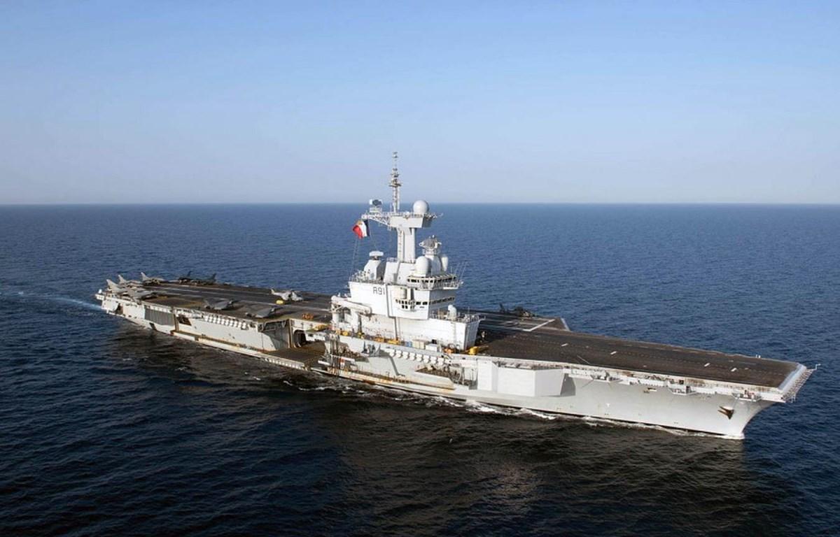 Tàu sân bay FS Charles de Gaulle của Pháp. (Nguồn: stripes.com)