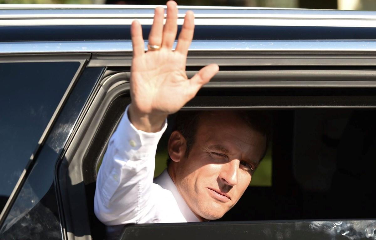 Tổng thống Pháp Emmanuel Macron đã khiến các đồng minh trong Tổ chức NATO tức giận. (Nguồn: AFP/Getty Images)