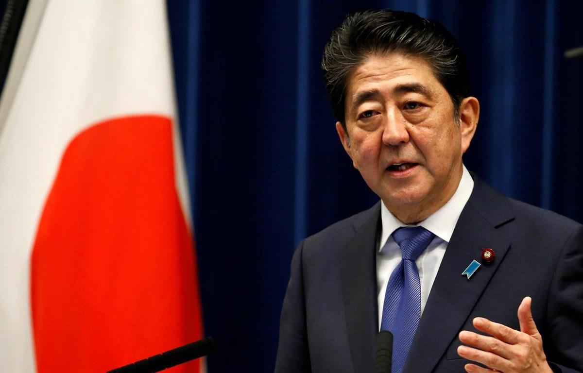 Thủ tướng Nhật Bản Shinzo Abe. (Nguồn: WJS)