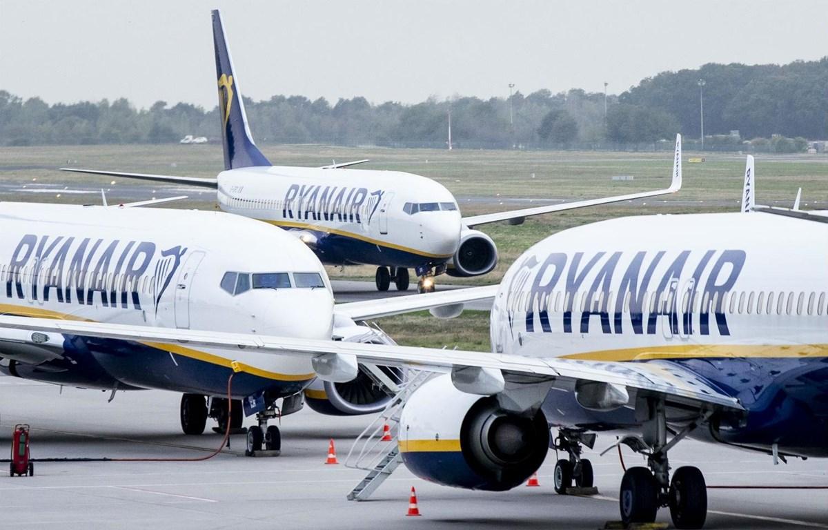 Máy bay của hãng hàng không Ryanair. (Nguồn: DPA)