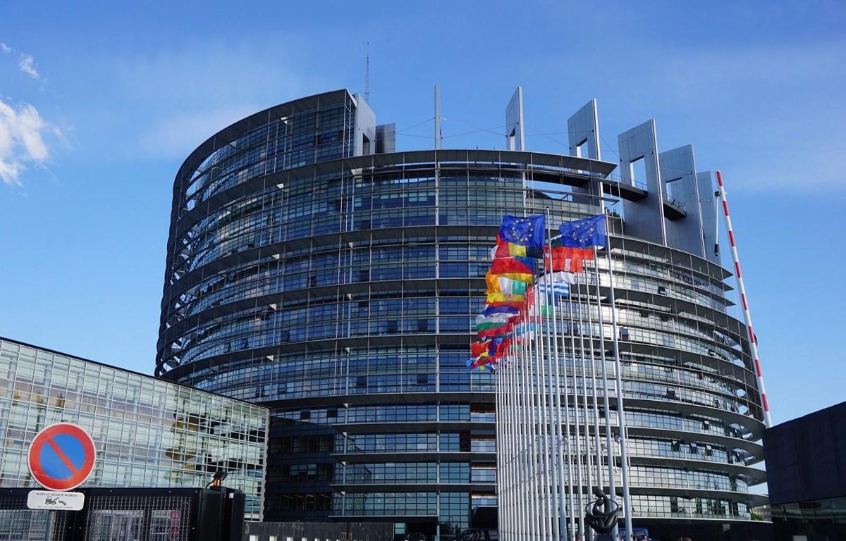 Trụ sở Nghị viện châu Âu ở Strasbourg. (Nguồn: AP)