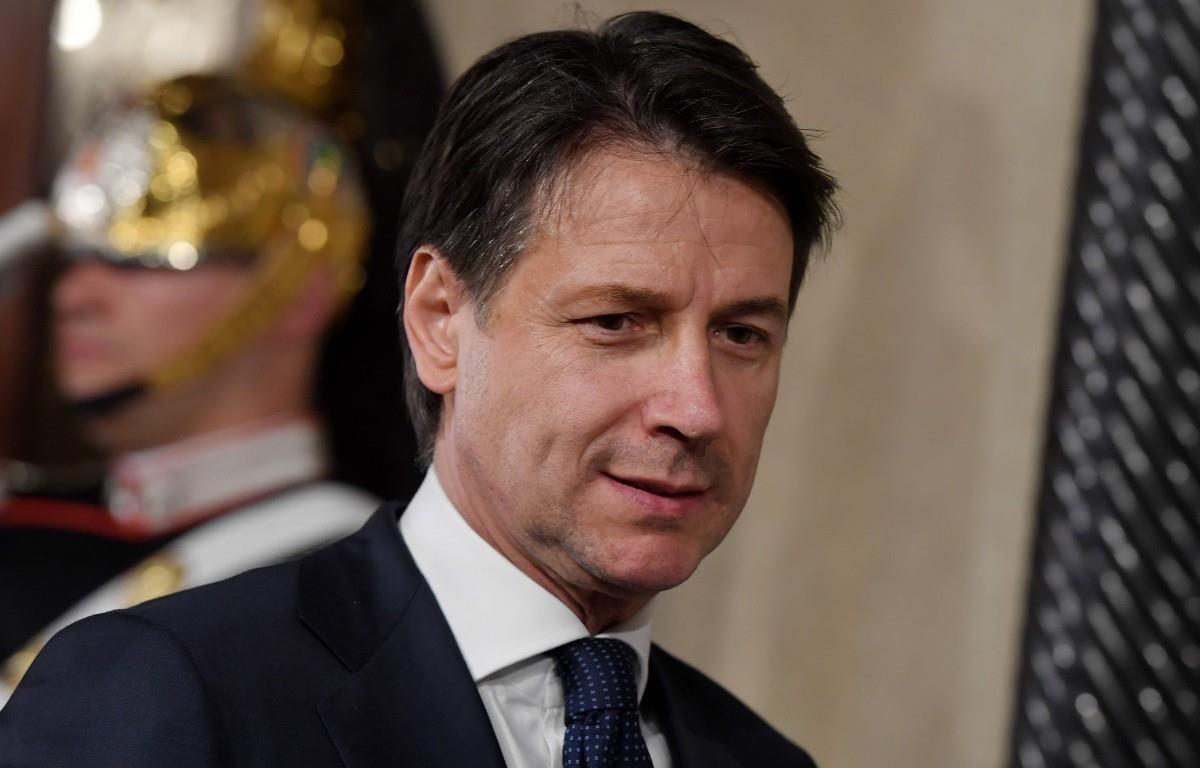 Thủ tướng Italy Giuseppe Conte. (Nguồn: AFP)