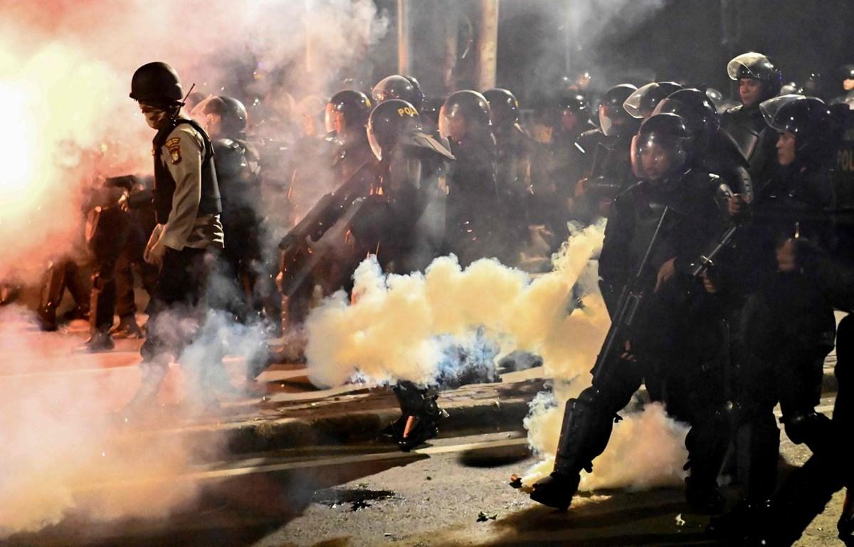 Lực lượng cảnh sát Indonesia. (Nguồn: AFP/Getty Images)