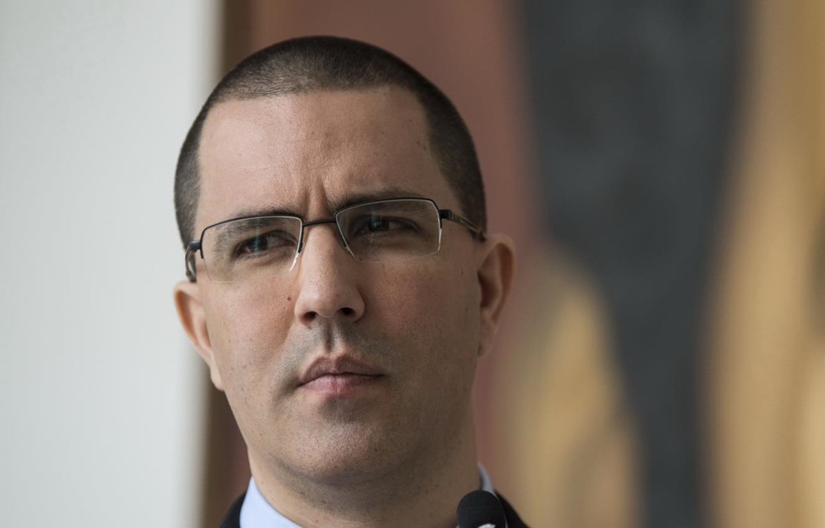 Ngoại trưởng Venezuela Jorge Arreaza. (Nguồn: Bloomberg)