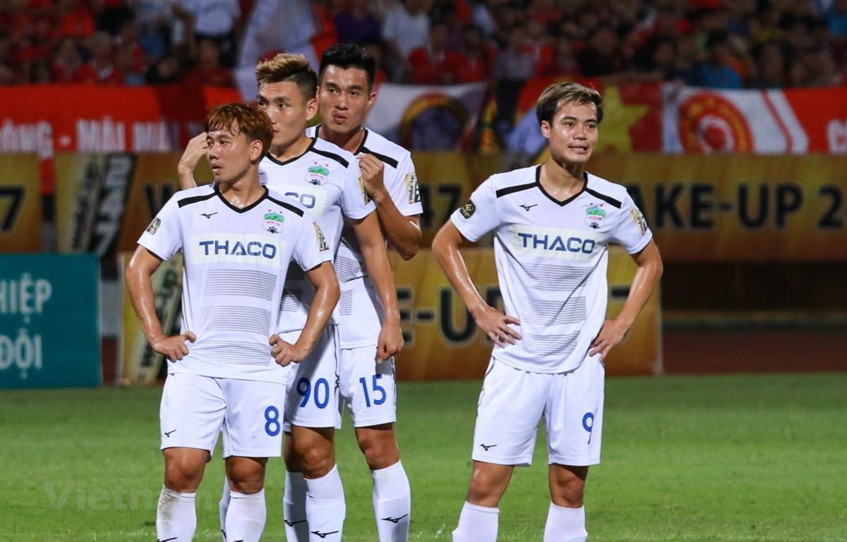 Hoàng Anh Gia Lai lại thua tại Đà Nẵng. (Ảnh: Nguyên An/Vietnam+)