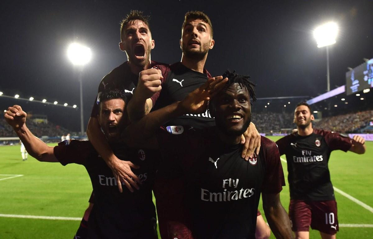Milan thắng nhưng vẫn không thể giành vé dự Champions League. (Nguồn: Getty Images)
