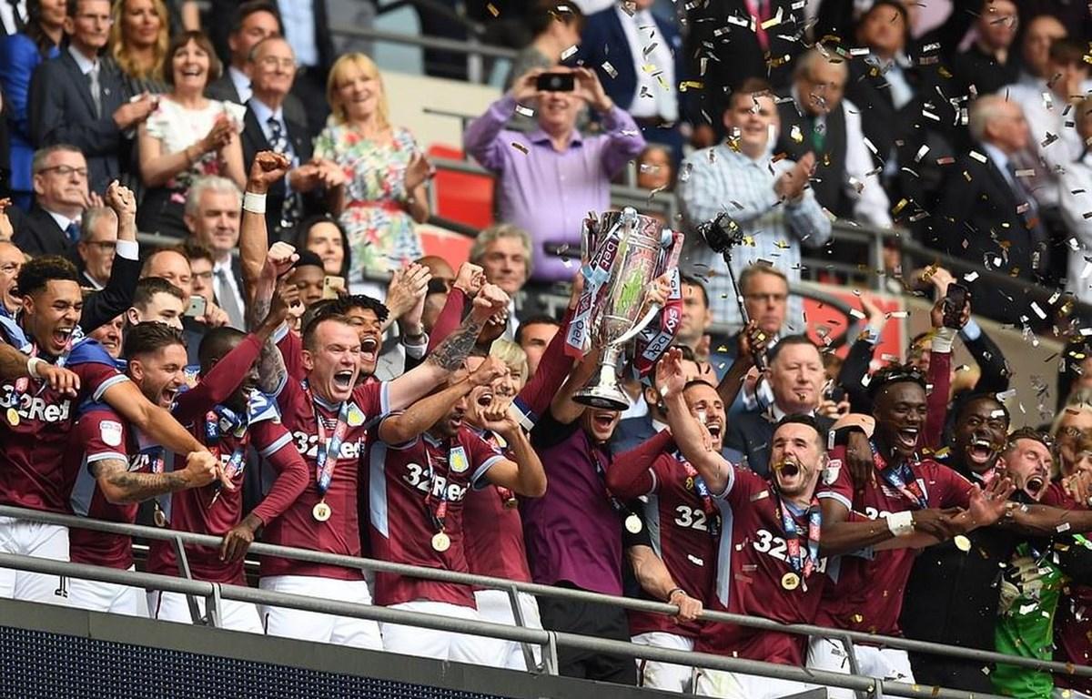 Aston Villa giành vé lên Premier League.