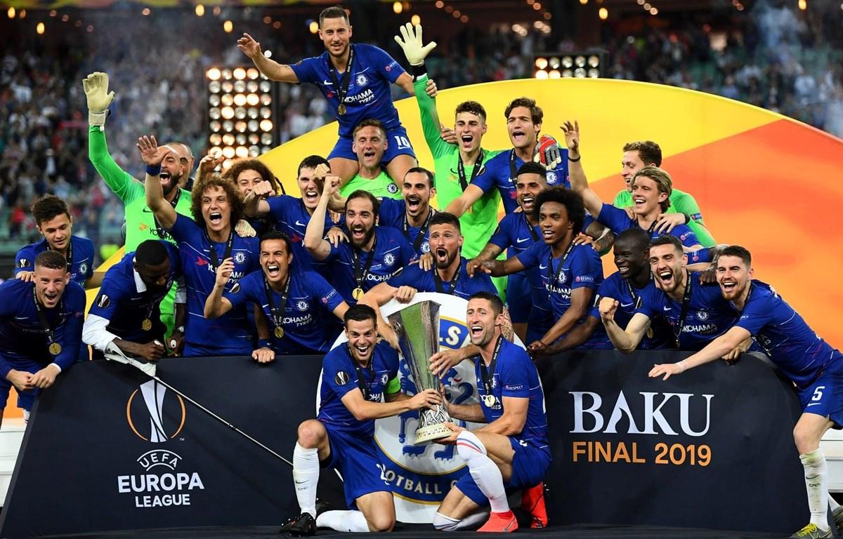 Chelsea vô địch Europa League 2018-19. (Nguồn Getty Images)