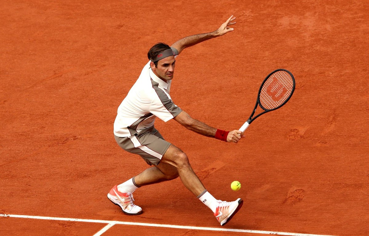 Federer lập kỷ lục tại Roland Garros. (Nguồn: AP)