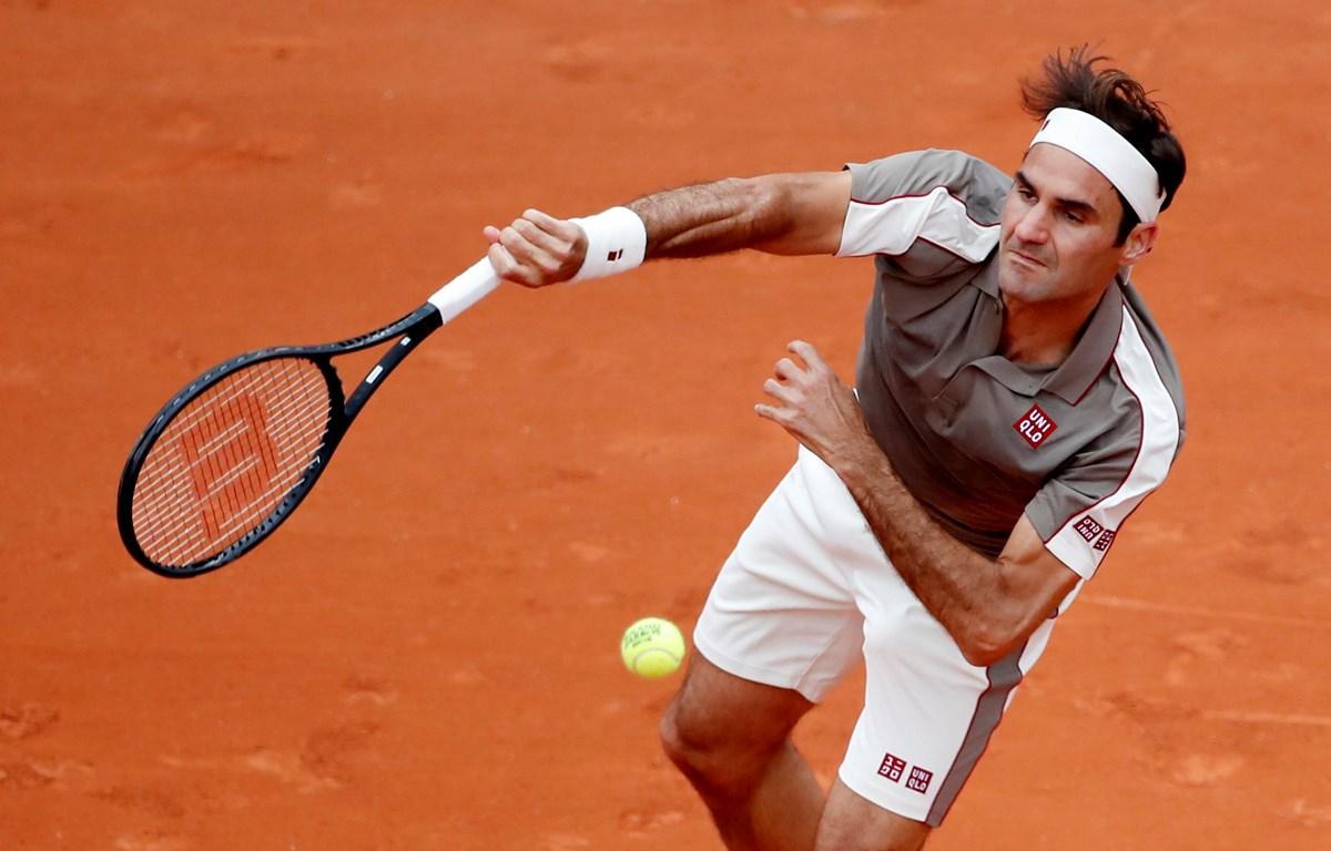 Federer vào tứ kết với thành tích chưa thua sét đấu nào. (Nguồn: ATP)