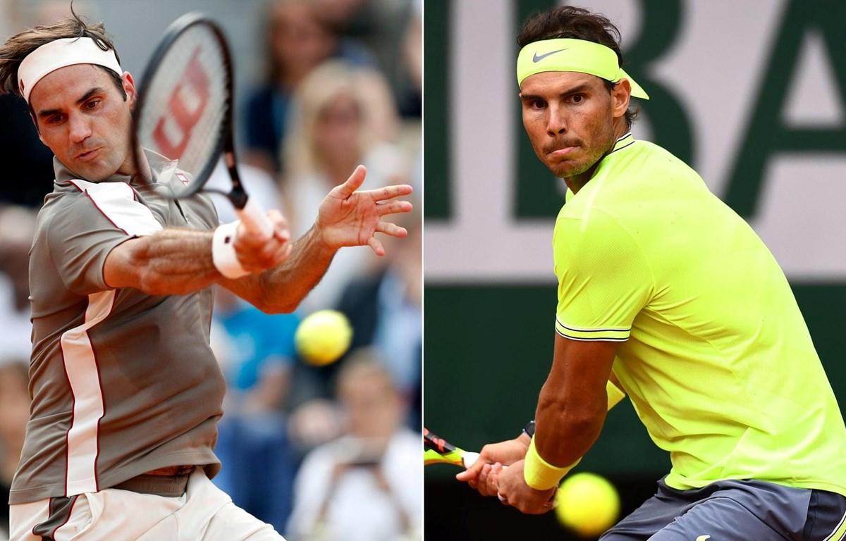 Đại chiến Nadal - Federer thành hiện thực. (Nguồn: Getty Images)