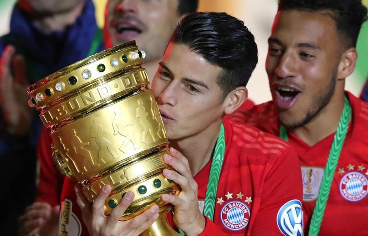 James Rodriguez chia tay Bayern sau 2 năm gắn bó. (Nguồn: beIN SPORTS)