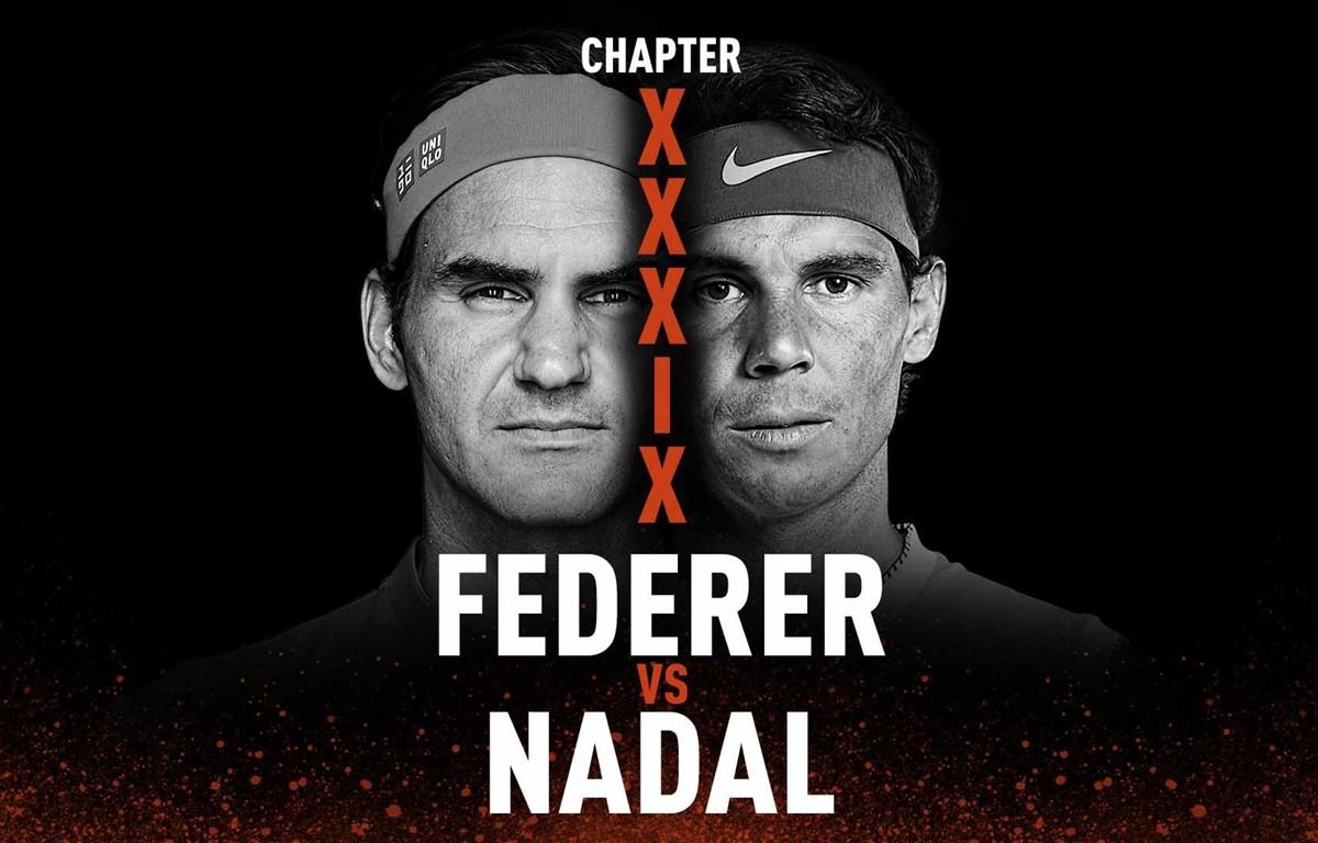 Federer đại chiến Nadal ở Roland Garros 2019. (Nguồn: ATP Tour)