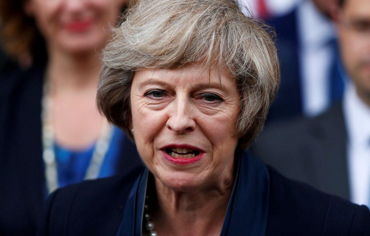 Thủ tướng Anh Theresa May. (Nguồn: Reuters)