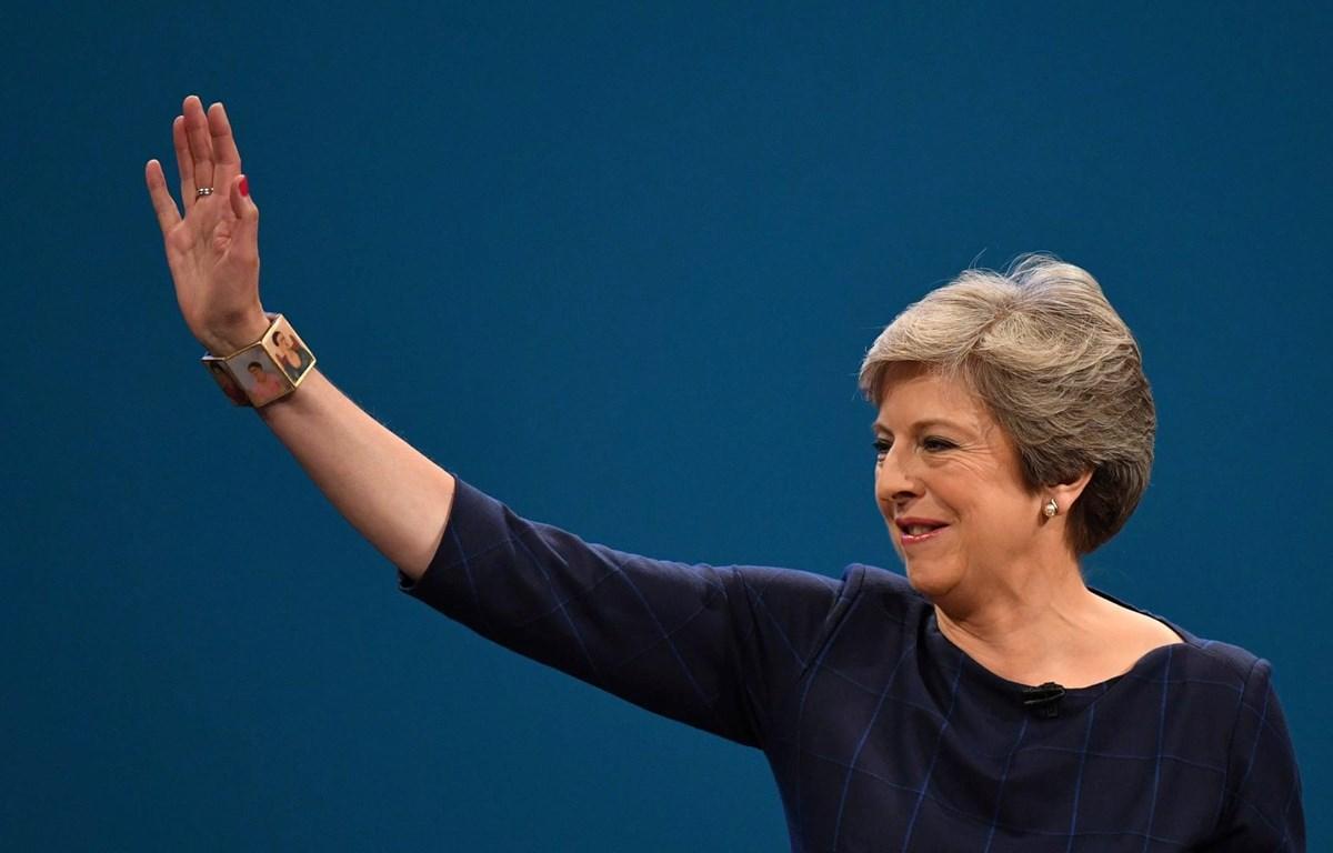Thủ tướng Anh Theresa May. (Nguồn: EPA)