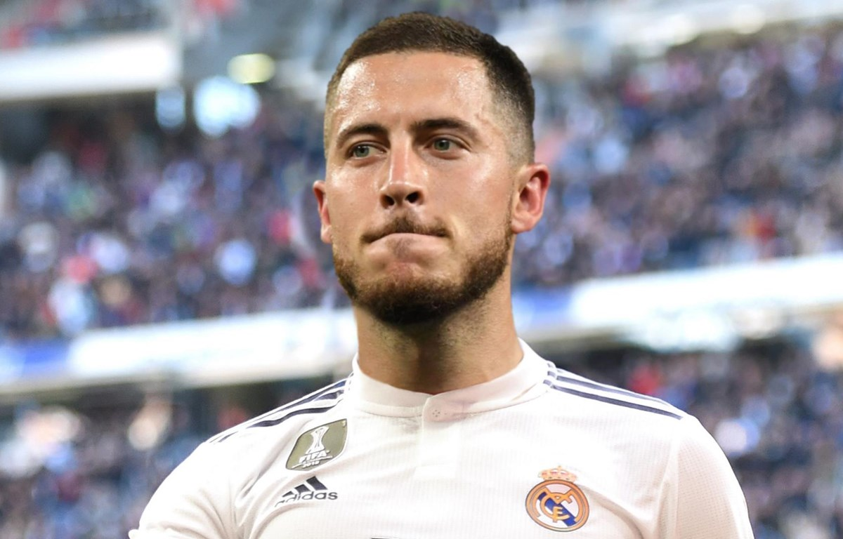 Hazard cập bến Real Madrid. (Nguồn: Goal.com)