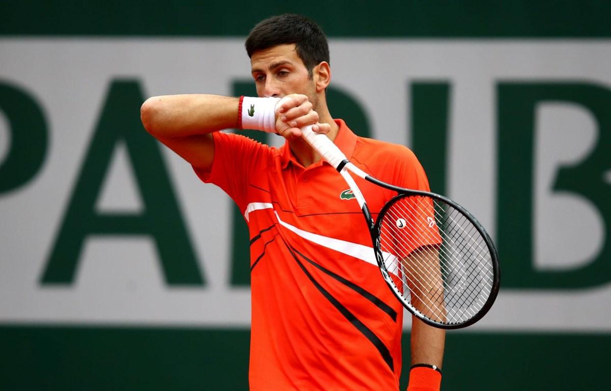Djokovic bị loại ở bán kết Roland Garros. (Nguồn: AP)