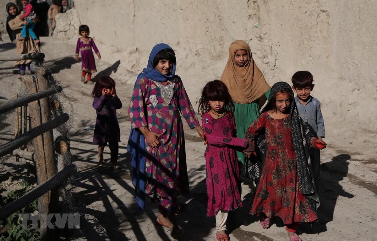 Người tị nạn Afghanistan. (Ảnh: TTXVN phát)