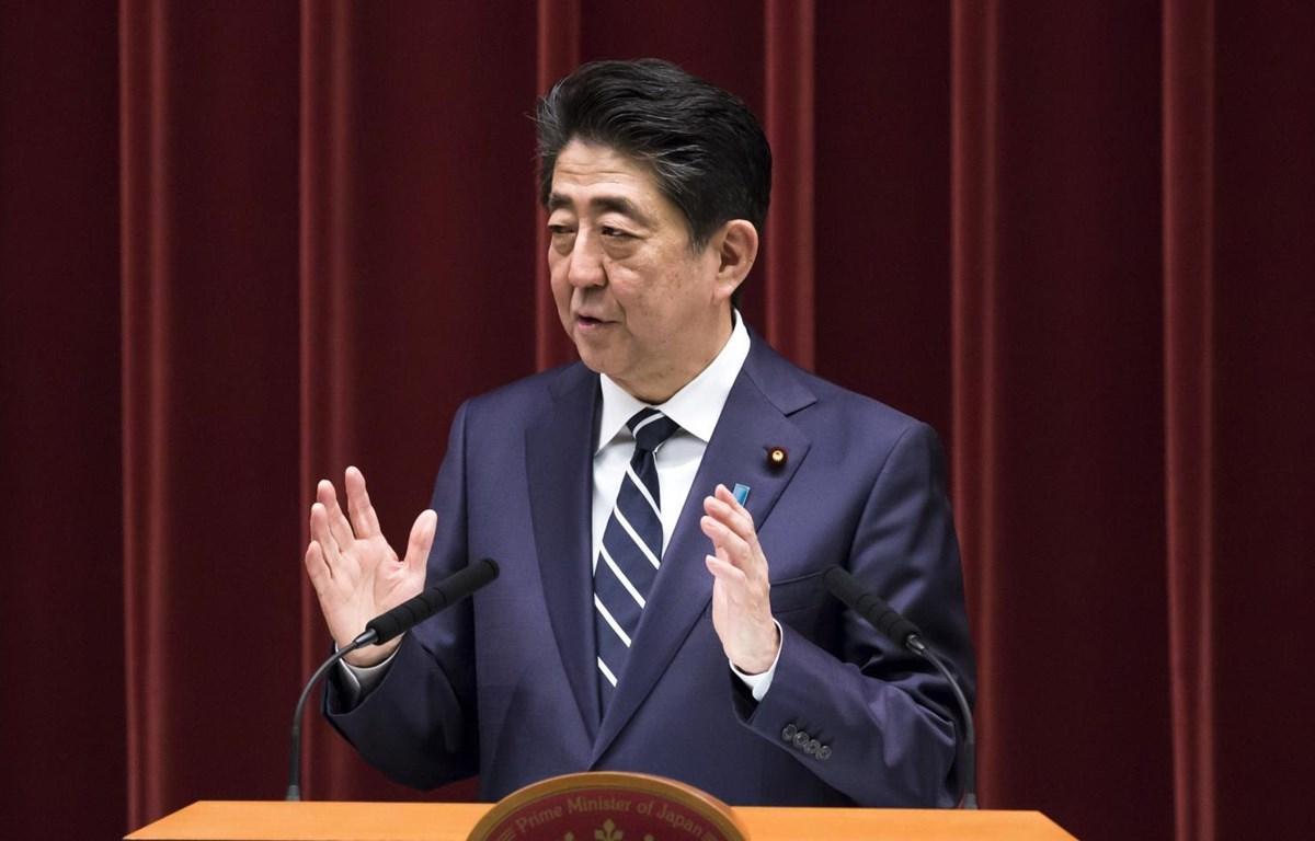 Thủ tướng Nhật Bản Shinzo Abe. (Nguồn: Bloomberg)