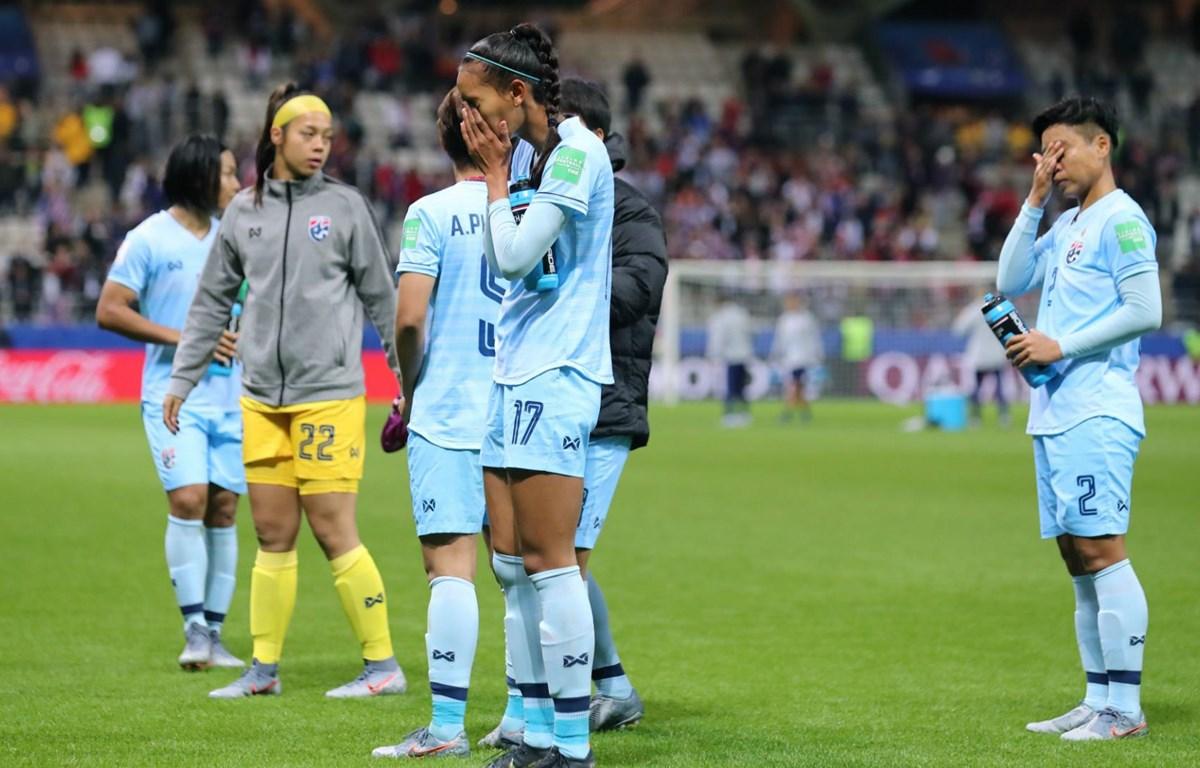 Thái Lan thảm bại tại World Cup nữ 2019. (Nguồn: Getty Images)