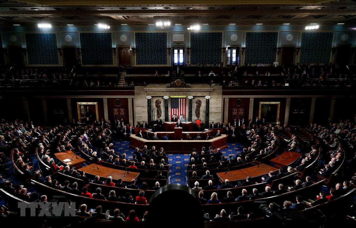 Toàn cảnh một phiên họp của Hạ viện Mỹ. (Ảnh: THX/TTXVN)