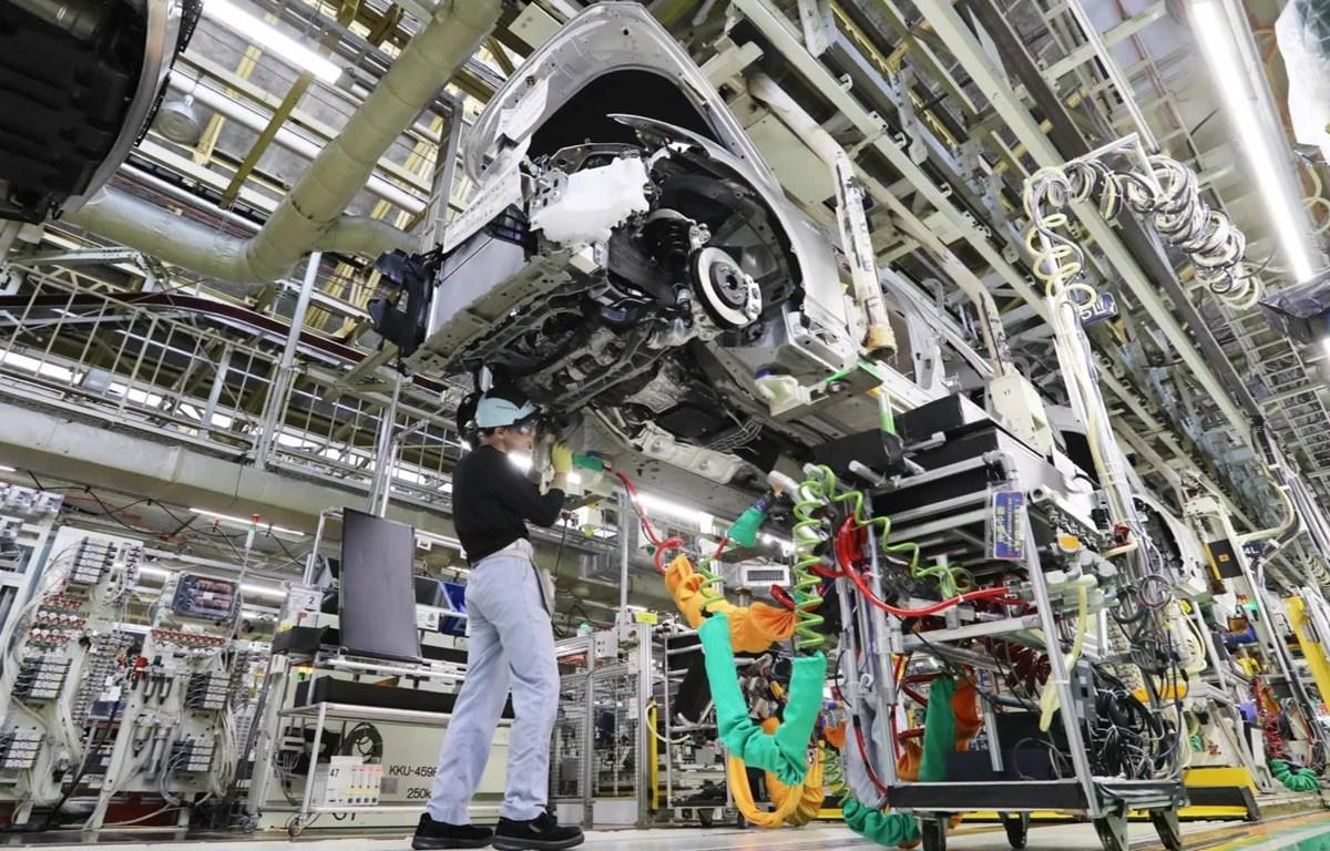 Xưởng lắp ráp ôtô của Toyota tại Toyoda, Nhật Bản. (Nguồn: nikkei.com)