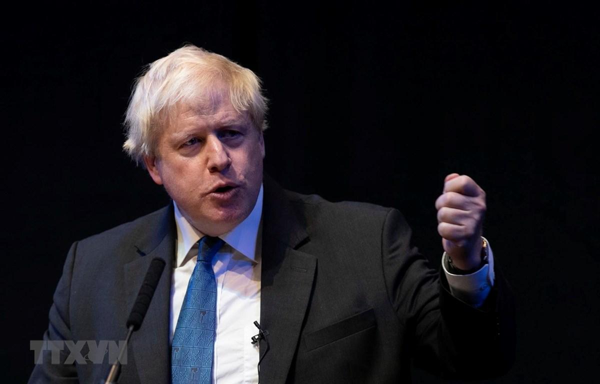 Cựu Ngoại trưởng Anh Boris Johnson. (Ảnh: THX/TTXVN)