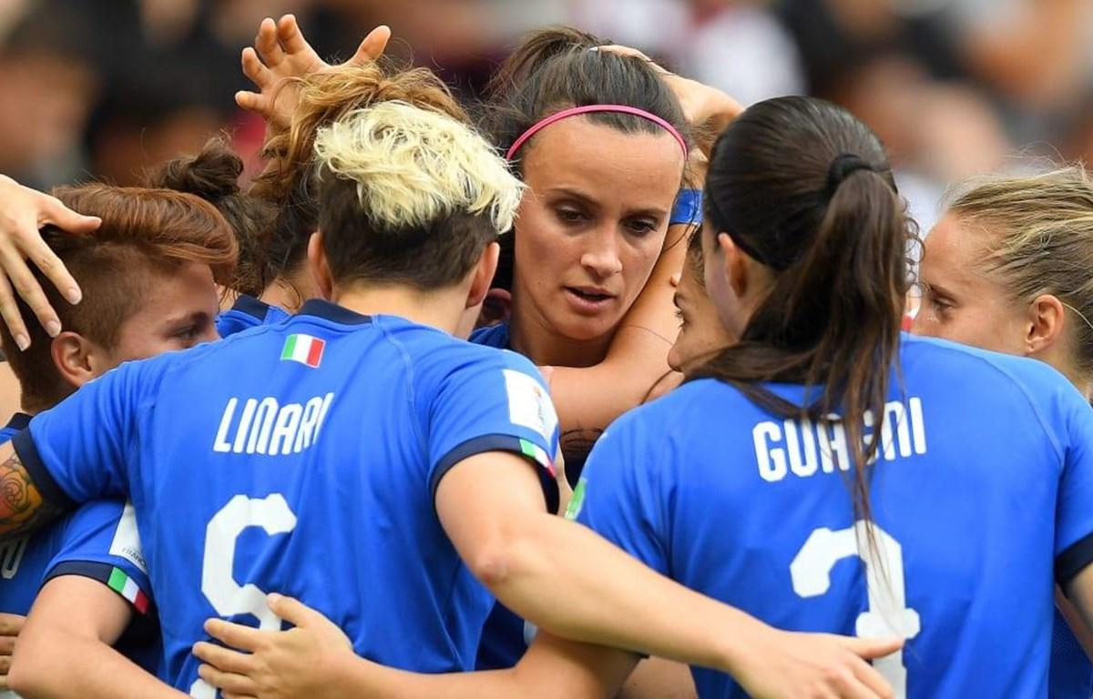 Italy đã sớm giành vé vào vòng 1/8 World Cup nữ 2019. (Nguồn: Getty Images)