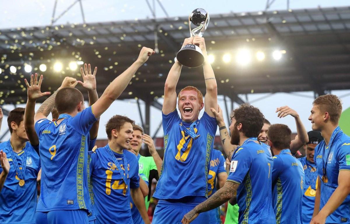 U20 Ukraine giành chứ vô địch U20 World Cup 2019. (Nguồn: Getty Images)