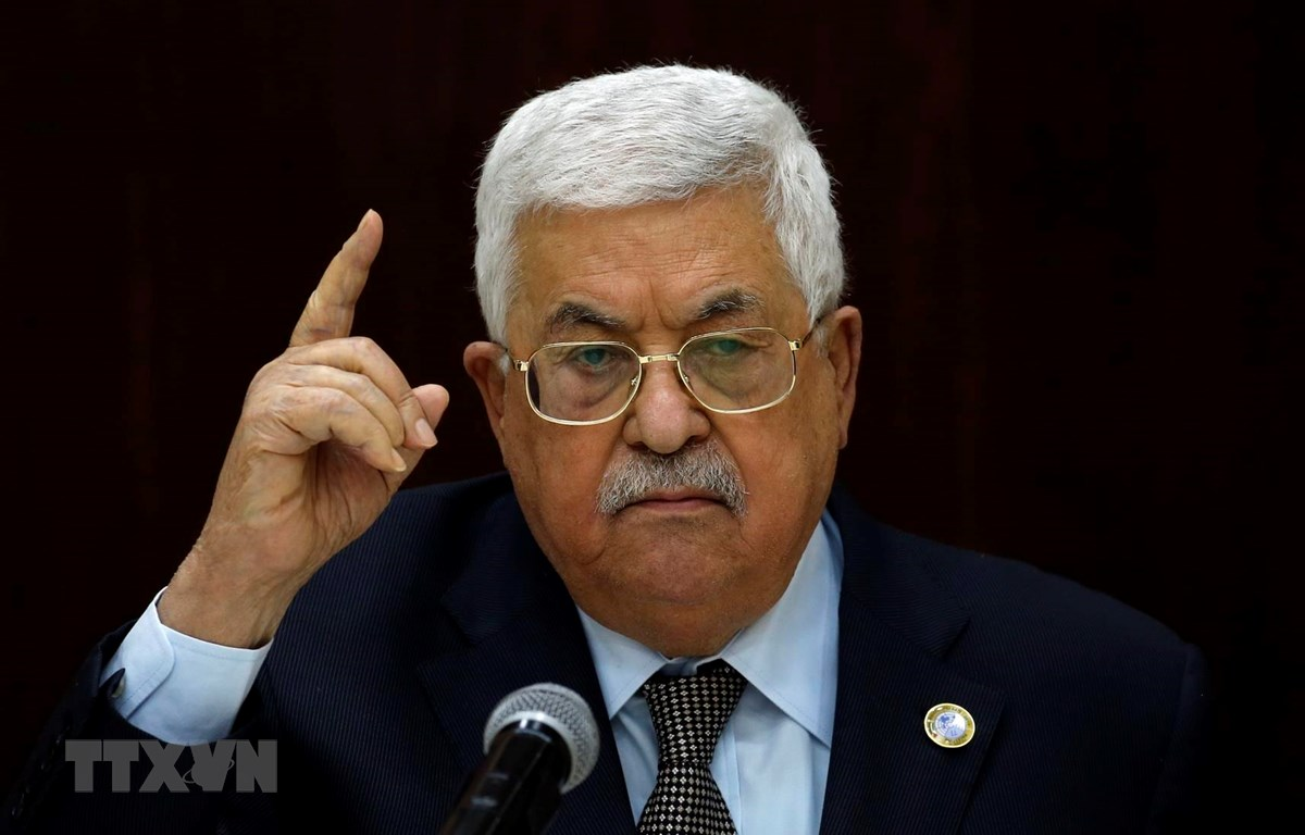 Tổng thống Palestine Mahmoud Abbas. (Ảnh: AFP/TTXVN)