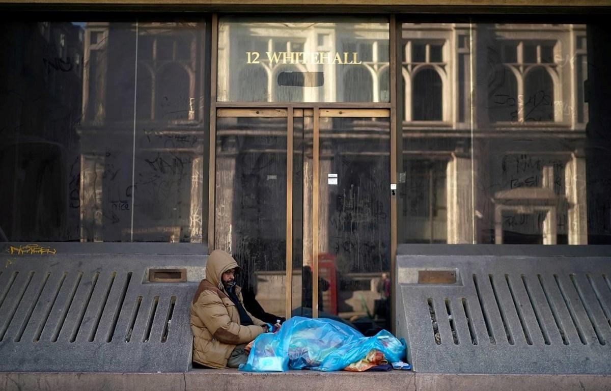 Người vô gia cư tại Anh. (Nguồn: Getty)
