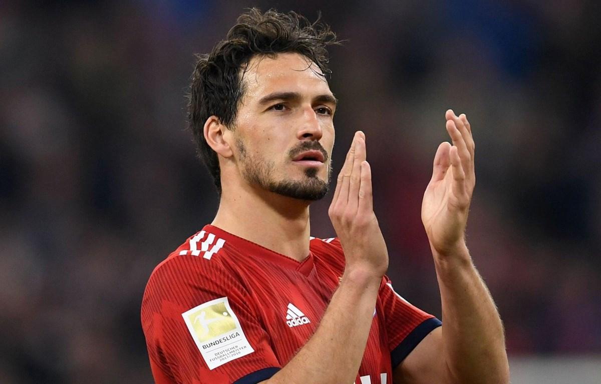 Mats Hummels chia tay Bayern Munich. (Nguồn: AFP/Getty Images)